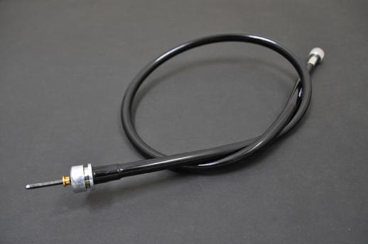 スピードメーターケーブルブラック::SR400/500 ('83〜'00)バイクパーツ
